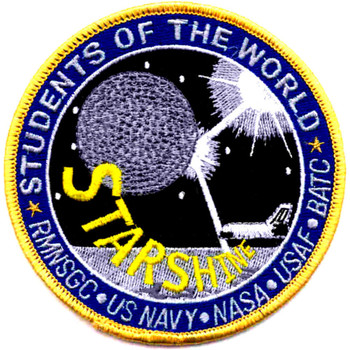 SP-226 NASA Columbia Space Shuttle Mission To ISS Starshine Patch