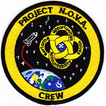 SP-148 NASA Project N.O.V.A. Crew Patch