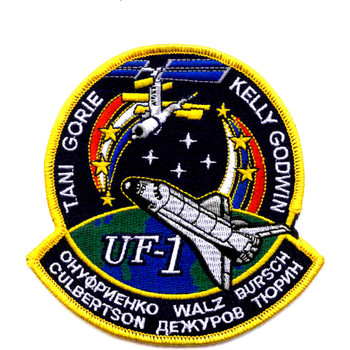 SP-143 NASA STS-108 Space Shuttle Endeavour Mission To Iss Patch