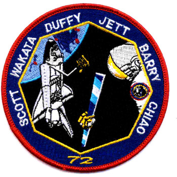 SP-108 NASA STS-72 Space Shuttle Endeavour Mission Patch