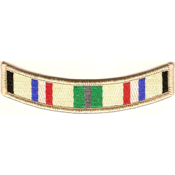 South-West Asia Service Campaign Ribbon MOS Patch