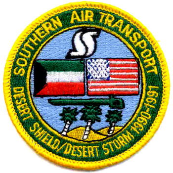 Southern Air Transport Aviation Patch Desert
