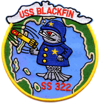 SS-322 USS Blackfin Patch - Version C