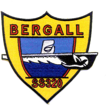 SS-320 USS Bergall Patch - B Version