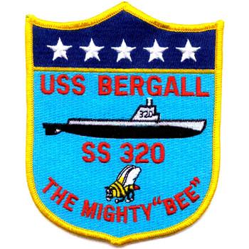 SS-320 USS Bargall Patch - D Version