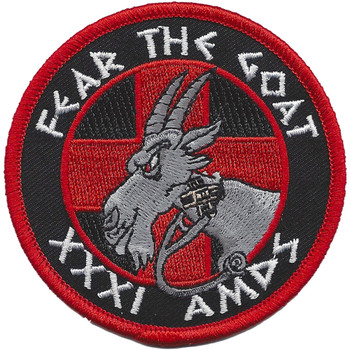 31st AMDS Fear The Goat Patch