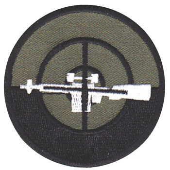 Sniper Mobile Riverine Force OD Green Patch