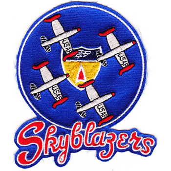 Skyblazers Aerial Demo Team Patch