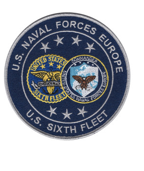 Sixth Fleet Naval Forces Europe Patch