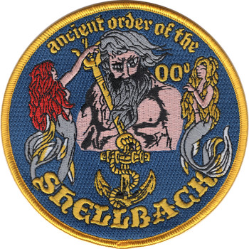 Shellback-Ancient Order Patch