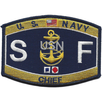 SFC Chief Shipfitter Patch