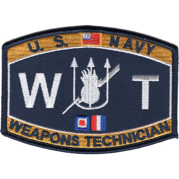 WT Weapons Technician Deck Rating Patch
