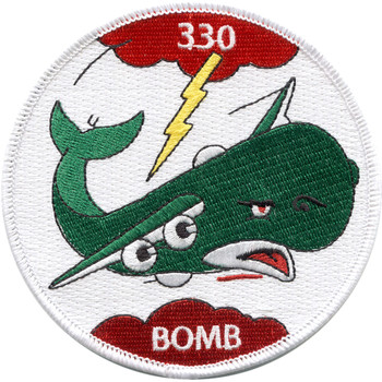 World War II 330th Bombardment Squadron Patch