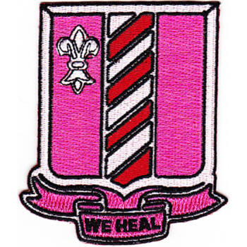 317th Medical Battalion Patch
