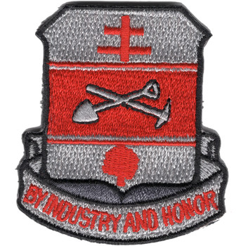 317th Engineer Battalion Patch
