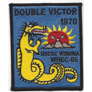 WHEC-65 Winona Owasco Class High Endurance Cutter Patch - Version B