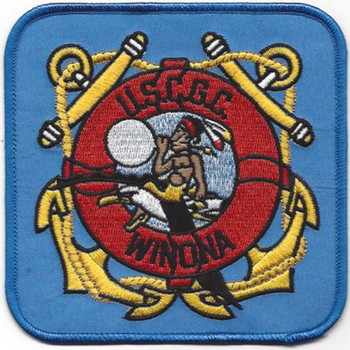 WHEC-65 Winona Owasco Class High Endurance Cutter Patch  - Version C