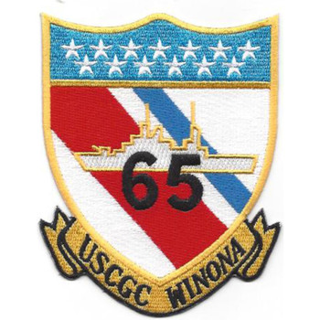 WHEC-65 Winona Owasco Class High Endurance Cutter Patch