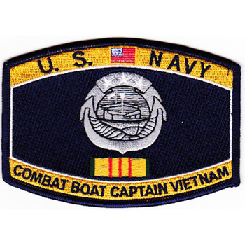 Weapons Specialty Rating Combat Boat Captain Vietnam Patch