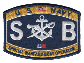 Special Warfare Boat Operator Patch