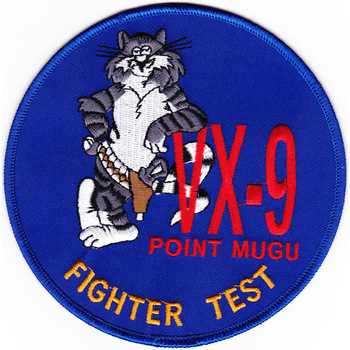 VX-9 Test & Evaluation Squadron Patch Point Mugu Fighter Test