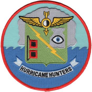 VW-4 Patch Hurricane Hunters