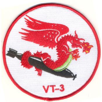 VT-3 Torpedo Squadron Three Patch