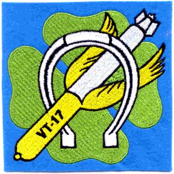 VT-17 Aviation Air Torpedo Squadron Seventeen Patch