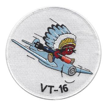 VT-16 Torpedo Squadron Sixteen Patch