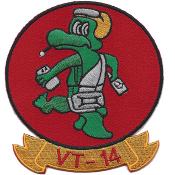 VT-14 Aviation Training Squadron Fourteen Patch