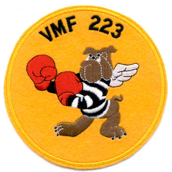 VMF-223 Fighter Squadron Patch