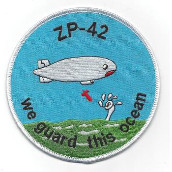 ZP-42 Blimp Squadron WWII Patch