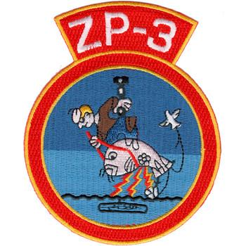 ZP-3 Patrol Squadron Airship Patch