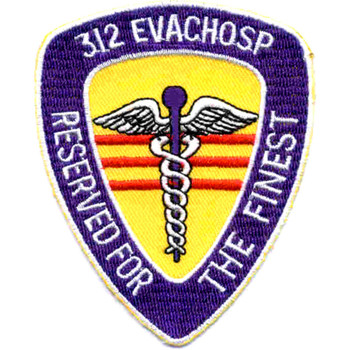 312 Medical Evacuation Hospital Patch