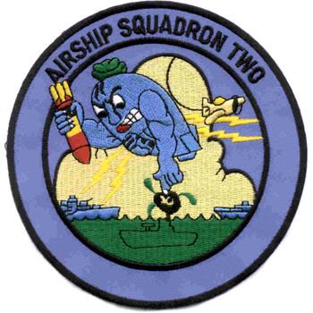 ZP-2 Aviation Airship Patrol Squadron Two Patch