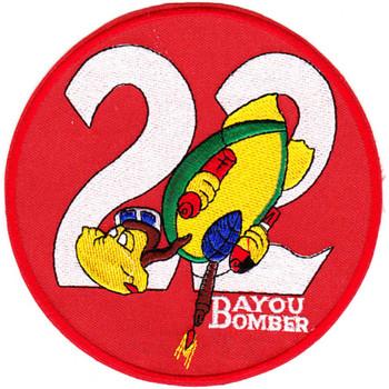 ZP-22 Patch Bayou Bomber