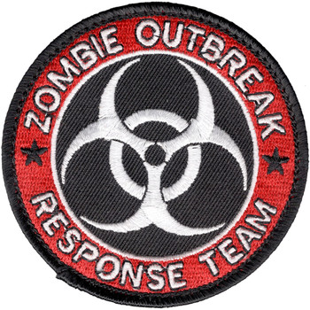 Zombie Outbreak Response Team Patch Hook And Loop