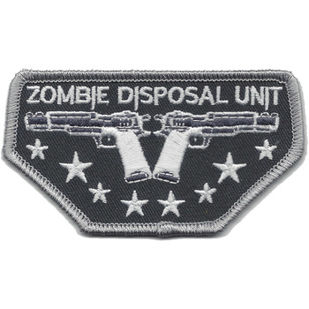 Zombie Disposal Unit Patch
