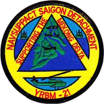YRBM-21 NAVSUPPACT Siagon Detachment Patch