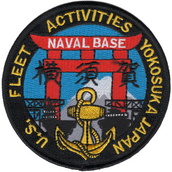 Yokosuka Japan US Fleet Activities Patch