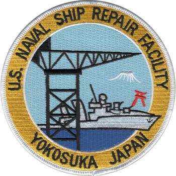 Yokosuka Japan Naval Ship Repair Facility Patch