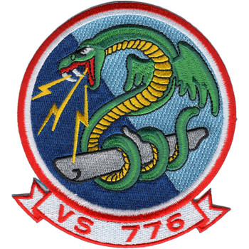 VS-776 Navy Scout Squadron Patch