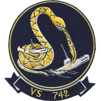 VS-742 Aviation Air Sea Control Squadron Thirty Two Patch