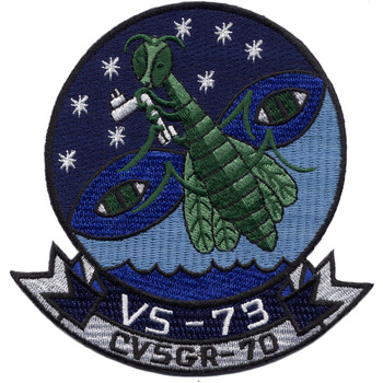 VS-73 Aviation Anti-Submarine Squadron Patch