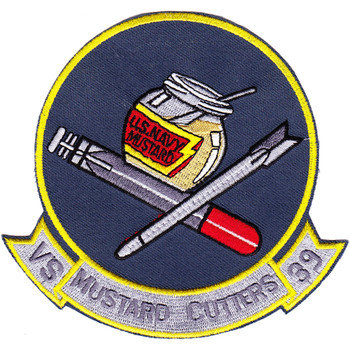VS-39 Sea Control Squadron Mustard Patch