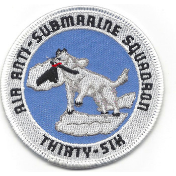 VS-36 Anti-Submarine Squadron Small Version Patch