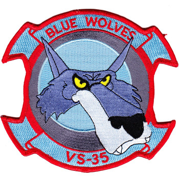 VS-35 Aviation Air Sea Control Squadron Thirty Five Patch