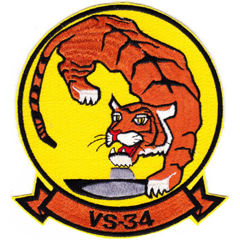 VS-34 Sea Control Squadron Patch