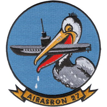 VS-27 Anti-Submarine Squadron Patch