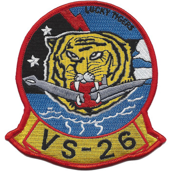 VS-26 Submarine Patrol Squadron Patch